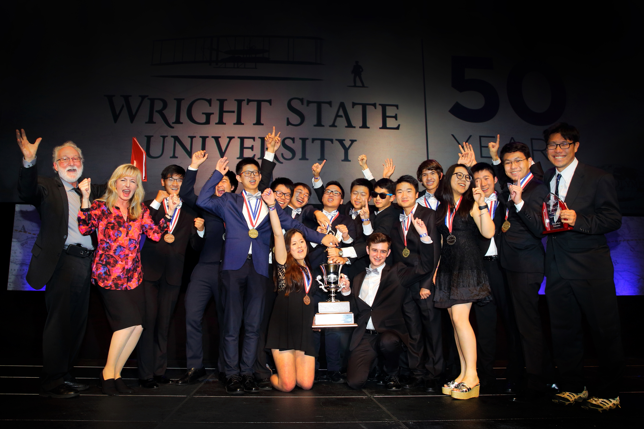 Troy High School from California wins the 2017 Science Olympiad National Tournament