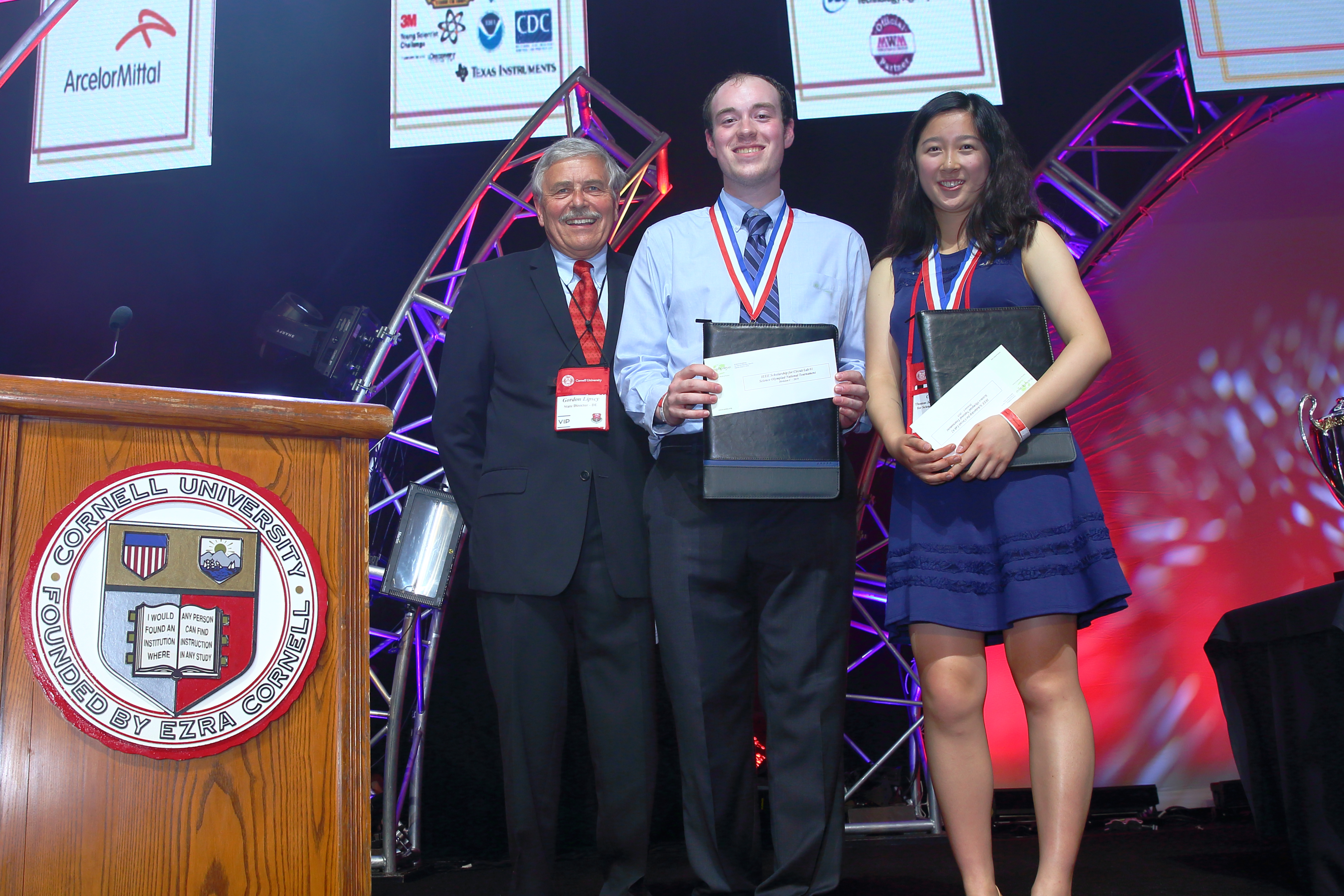 Students win IEEE scholarships at the 2019 National Tournament