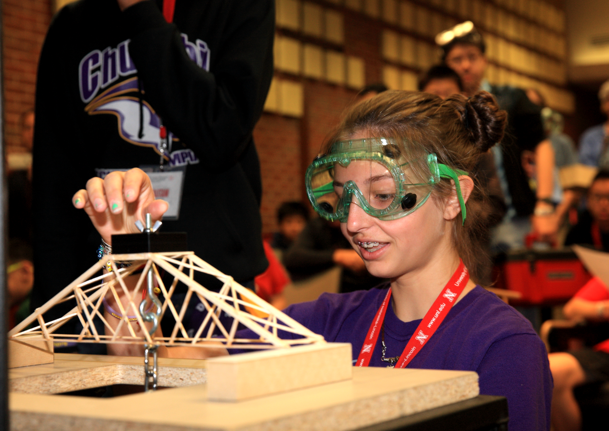 Bridge Building at the 2015 Science Olympiad National Tournament