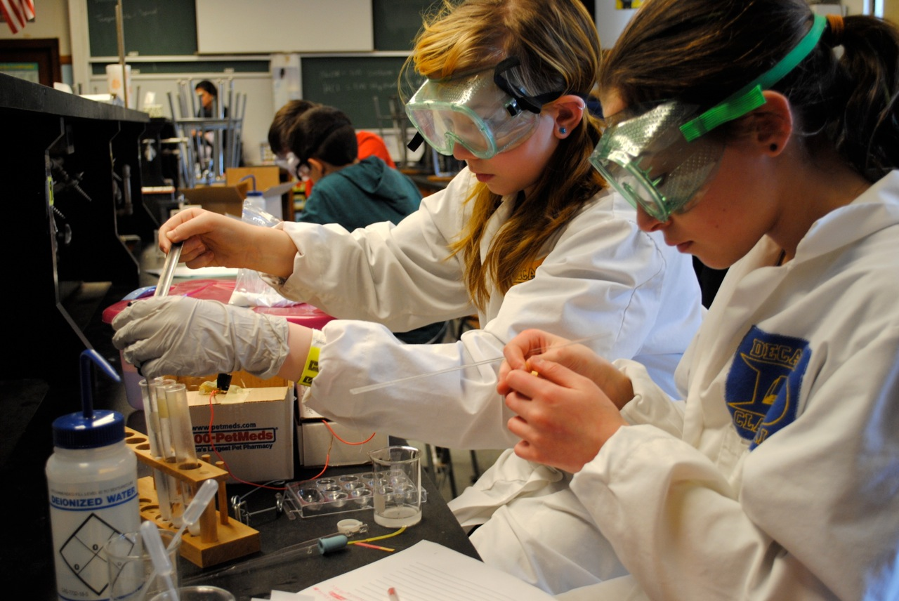 Science Olympiad events touch every letter in STEM and provide an ideal platform for mentoring by female professionals