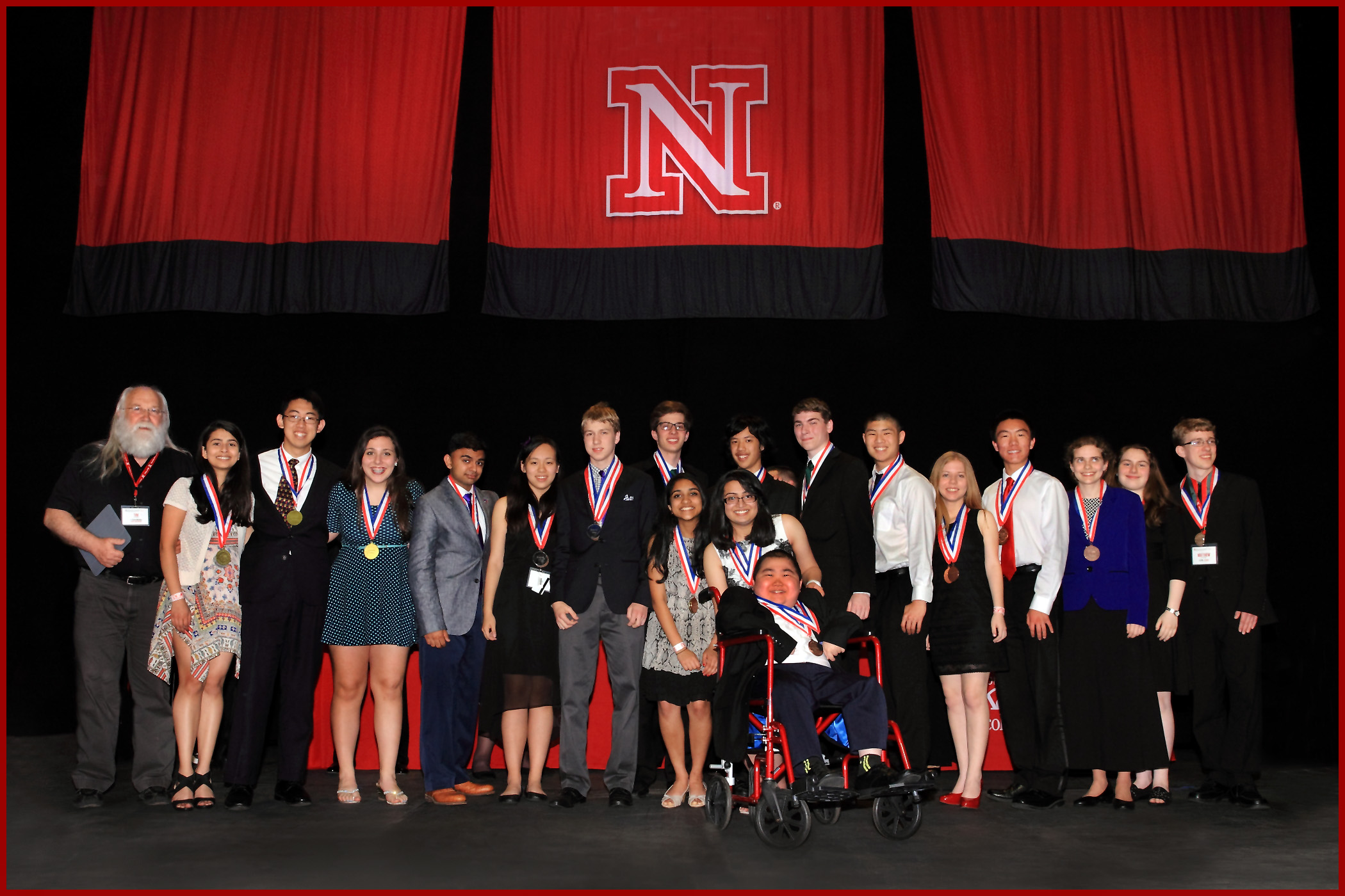 Protein Modeling winners at the 2015 Science Olympiad National Tournament