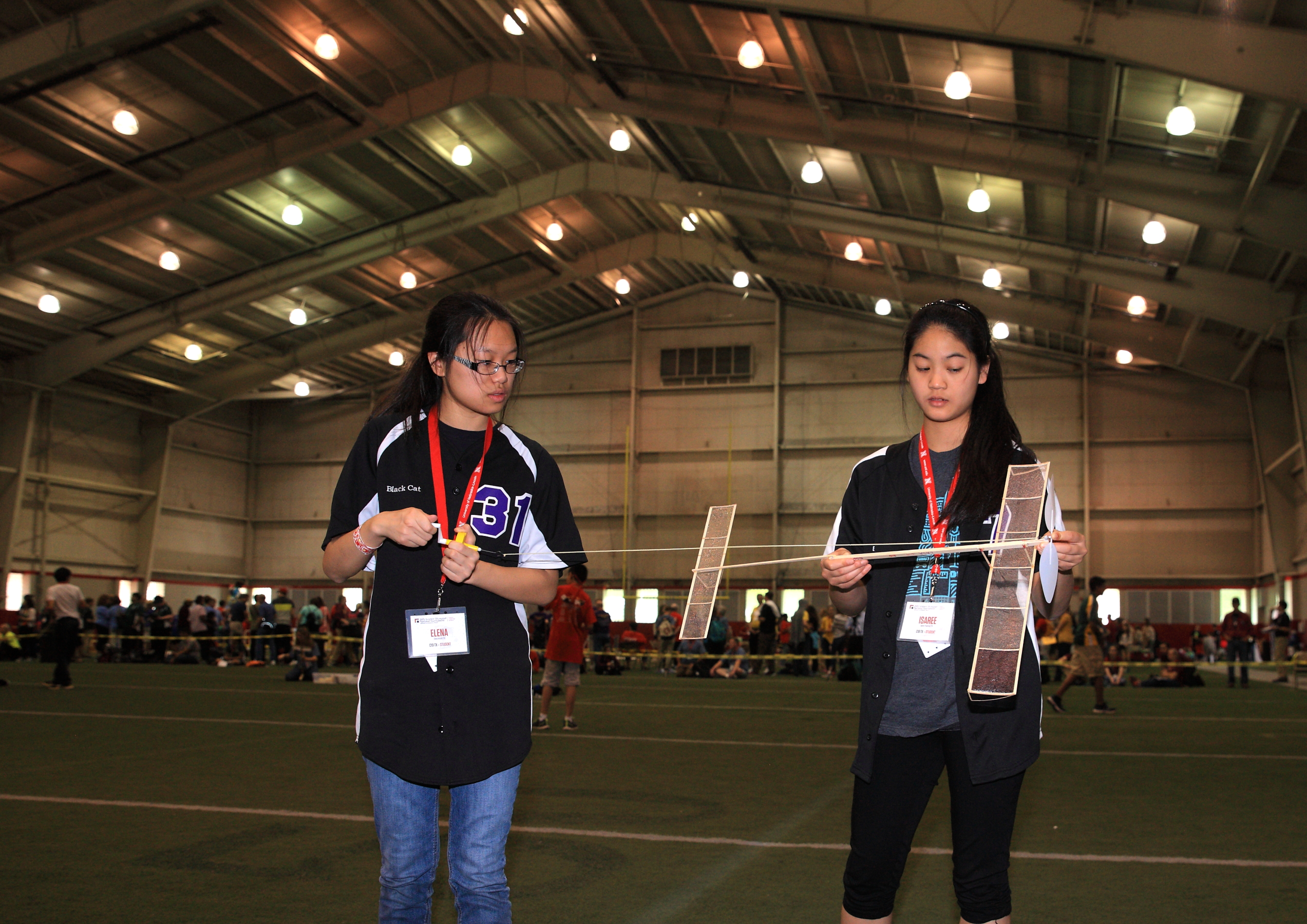 Wright Stuff at the 2015 Science Olympiad National Tournament
