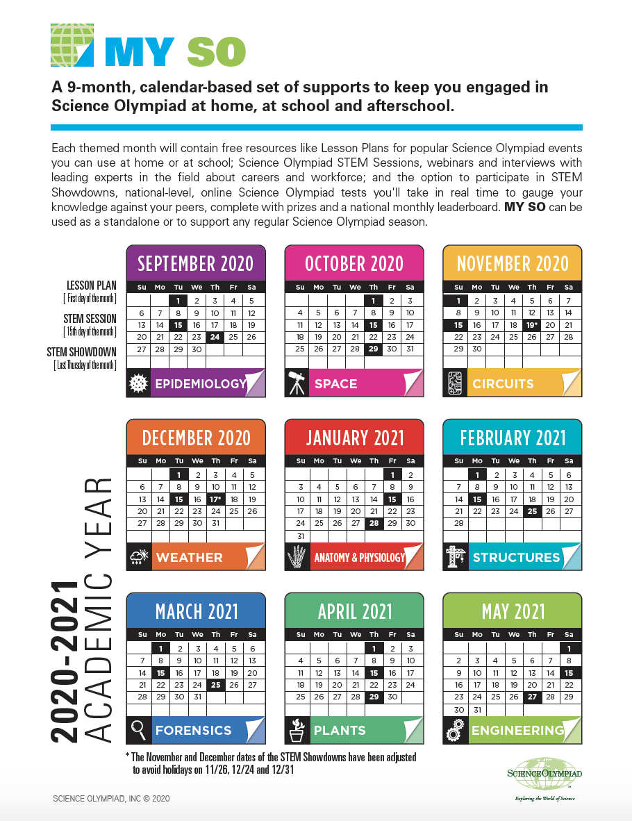 My SO Calendar