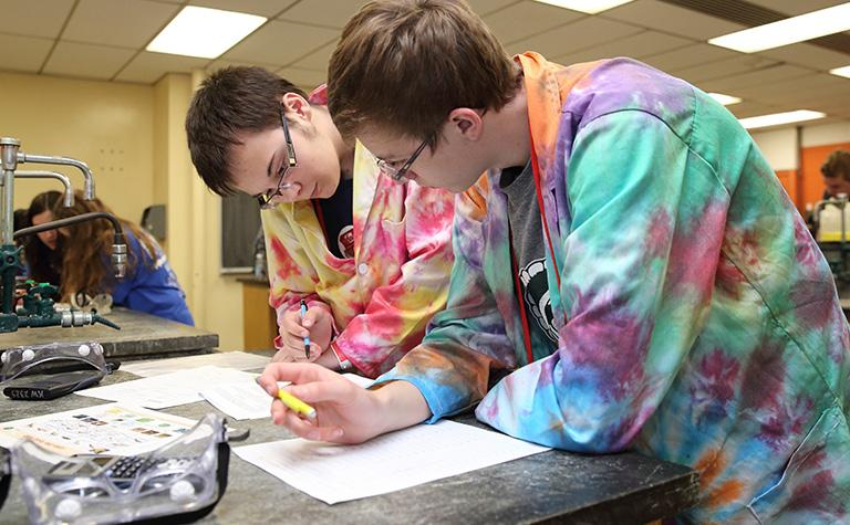 Students compete at the Science Olympiad National Tournament